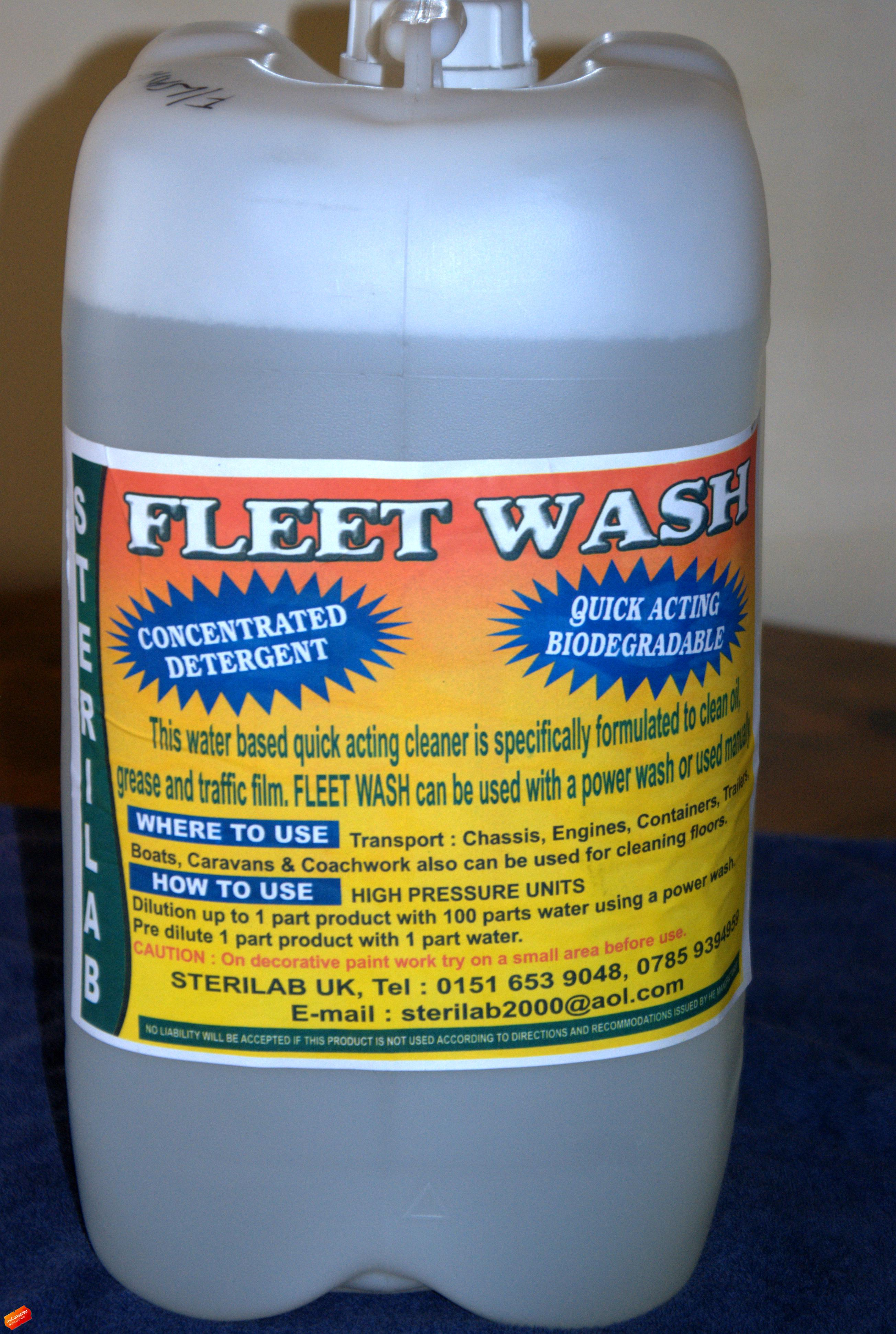 fleet wash drum